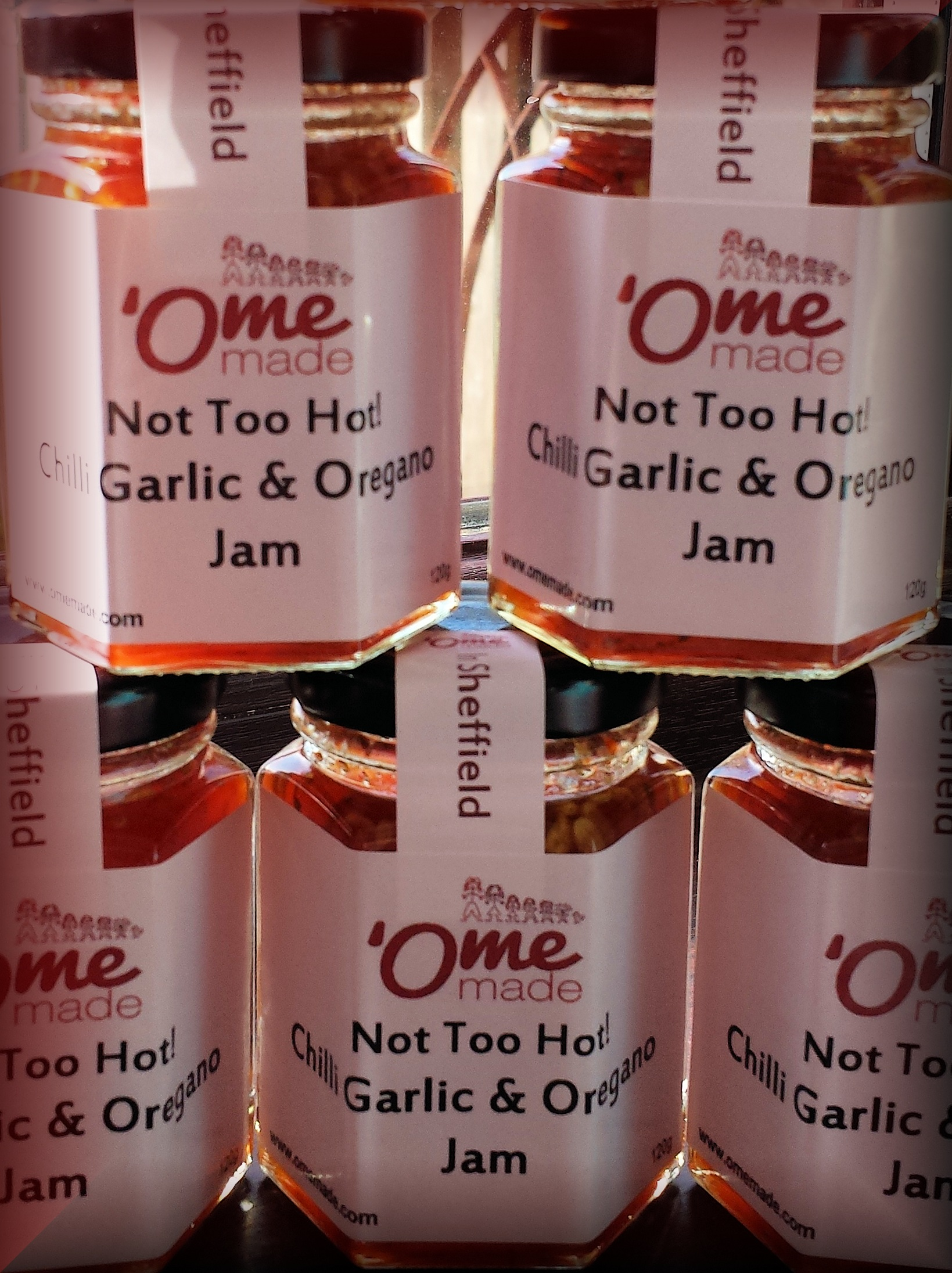 chilli garlic and oregano jam